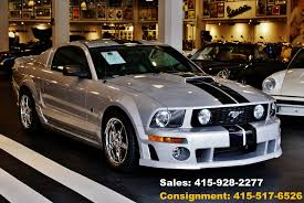 roush stage 2 mustang for sale 2006 ford mustang roush stage 2 stock 151006 for sale near san