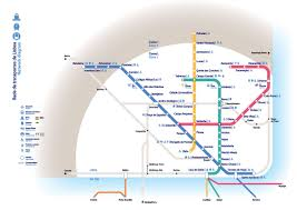 Lisbon Metro Map by