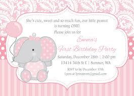 elephant birthday invitations afoodaffair me
