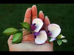 Flowers By Violet - how to make sweet pea flowers by archana joshi follow the flower