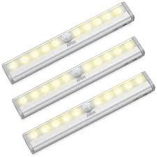 stick on lights for closets amir motion sensing closet lights 3 pack diy stick on anywhere
