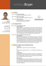 New Resume Template Impressive Decoration New Resume Formats Cool Design Ideas Format
