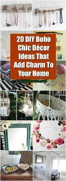 20 DIY Boho Chic Decor Ideas That Add Charm To Your Home DIY