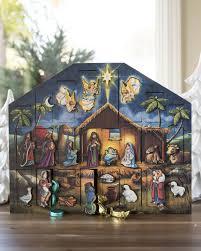nativity advent calendar nativity advent calendar balsam hill