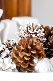 create perfectly flocked pinecones duke manor farm