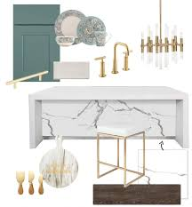 crystal u0027s modern classic kitchen design board u2013 home trends magazine