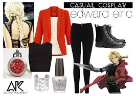 Edward Elric Halloween Costume Causual Cosplay Edward Elric Allonsykimberly Casual