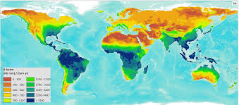 Map Of Caribbean And South America by Global Erosivity Map Shows Differences Between Climatic Regions