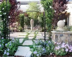 french country garden decor spanish landscape design garden