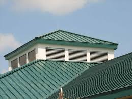 Metal Roof On Houses Pictures by Roofing Houses With Green Metal Roofs Precise Buildings Metal