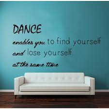 overstock com home decor quotes gym dance studio wall decor vinyl sticker home decor art