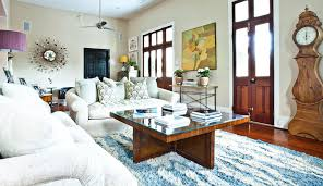 White Shag Rug White Shag Rug Living Room Eclectic With Artwork Blue Area Update