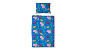 Peppa Pig Bed Set by George Pig Roarsome Junior Duvet Set Home U0026 Garden George At Asda