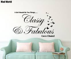 home decor wall art stickers free shipping classy and fabulous wall art sticker decal diy home