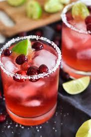 easy cranberry margarita isabel eats