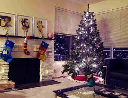 living room afe0e028ae3b9ea5fc1550e1e9e0fab6 white christmas tree