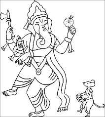 ganesha coloring games coloring pages