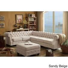 Tufted Sofa Sectional Not Your Average Sectional This Chesterfield Style Has