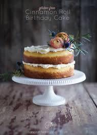 gluten free birthday cake cinnamon roll birthday cake gluten free mr farmer s