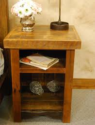 Nightstand With Shelf Wonderful Nightstand With Shelves Made Black Nightstand With