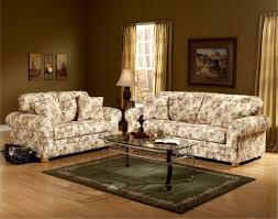 Sofas And Loveseats Sets by Floral Pattern Fabric Traditional Sofa U0026 Loveseat Set