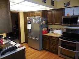 Kitchen Livingroom Ranch Home Galley Kitchen Open Floorplan Remodel Home Remodeling