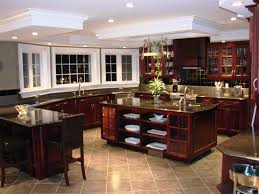 kitchen amazing dream kitchens ideas with red wood base cabinet
