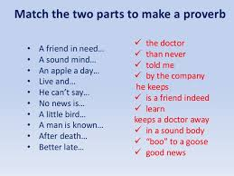 the most popular proverbs and sayings