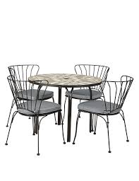 geo mosaic table u0026 4 chairs m u0026s