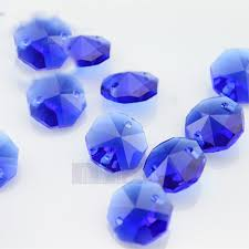 Crystal Parts For Chandeliers Aliexpress Com Buy 500pcs Lot Sapphire Crystal Glass Octagon