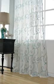 unique white sheer curtains with embroidery curtains blinds