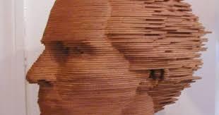self portrait wood ralph helmick sculpture