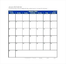 blank calendar template word 2016 excel templates calendar excel blank calendar microsoft excel