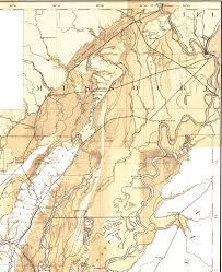 me a map of arkansas crowleys ridge arkansas topo map 1889 smaller