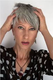 funky hairstyle for silver hair funky grey do silver sisters pinterest grey hair silver