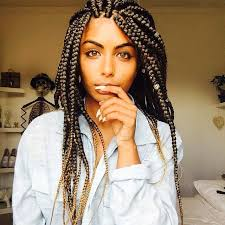 hairstyles plaits black women 65 box braids hairstyles for black women