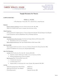 nursing resume objective resume sle for a fresh useful icu nursing resume objective