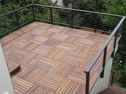 naturesort n4ot01sa1 six slats bamboo composite diy deck tiles 11