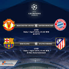 Jadwal Liga Chion Jadwal Pertandingan Leg Pertama Perempatfinal Liga Chions 2 01