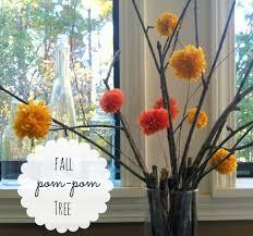 Pom Pom Trees Create Diy Fall Pom Pom Tree U2013 What Hopes U0026 Dreams Are Made Of