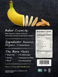 banana halloween bag amazon com bare natural banana chips gluten free plus baked 2 7