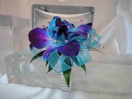 Teal Corsage Purple Blue Wrist Corsage Under 30 Google Search Reception