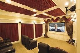 Home Theater Houston Ideas Chairs Beautiful Home Theater Interior Designs With Sofa Curtain