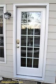 Exterior Door Installation How To Replace An Exterior Door Part 4