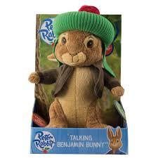 rabbit and benjamin bunny benjamin bunny talking plush rabbit