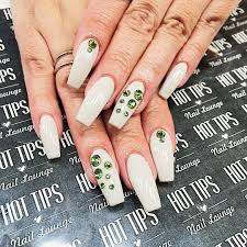 nail design ideas with bling acrylic nail art designs ideas