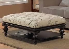 coffee table astonishing fabric ottoman coffee table storage