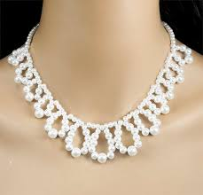 white pearls necklace designs images 79 best pearl necklace pattern images pearl jpg