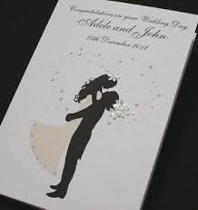 and groom card large handmade personalise groom congratulations wedding
