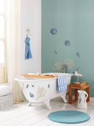 ideas for decorating bathroom walls coastal bathroom ideas hgtv